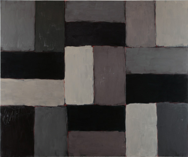 Iona (detail) 2004-06 oil on linen, three parts 279 x 336cm each